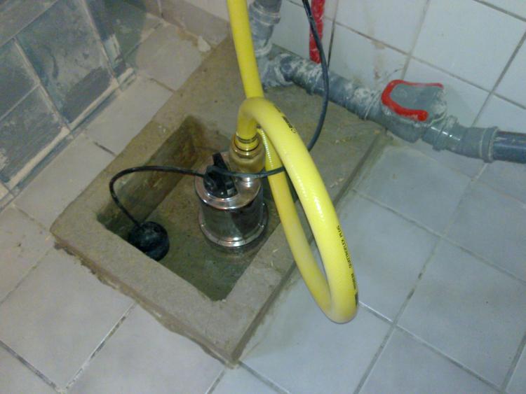 hebeanlage dusche einbau bodenablauf nachtrglich an hebeanlage anschlieen geht das - Hebeanlage Dusche Keller