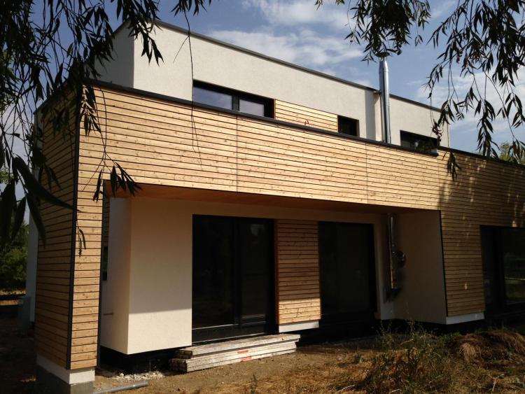 Holzverkleidung Haus haus holzverkleidung fassade die schönsten einrichtungsideen