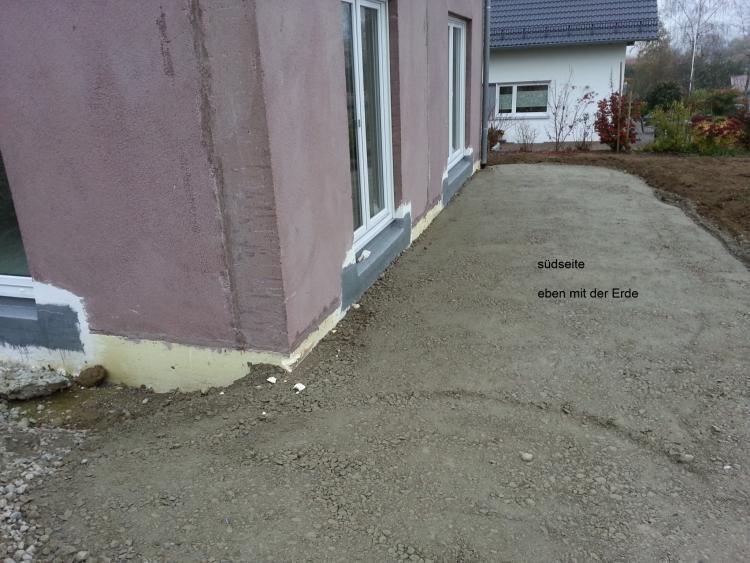 Beliebt Abdichtung Sockel Einfamilienhaus SI22