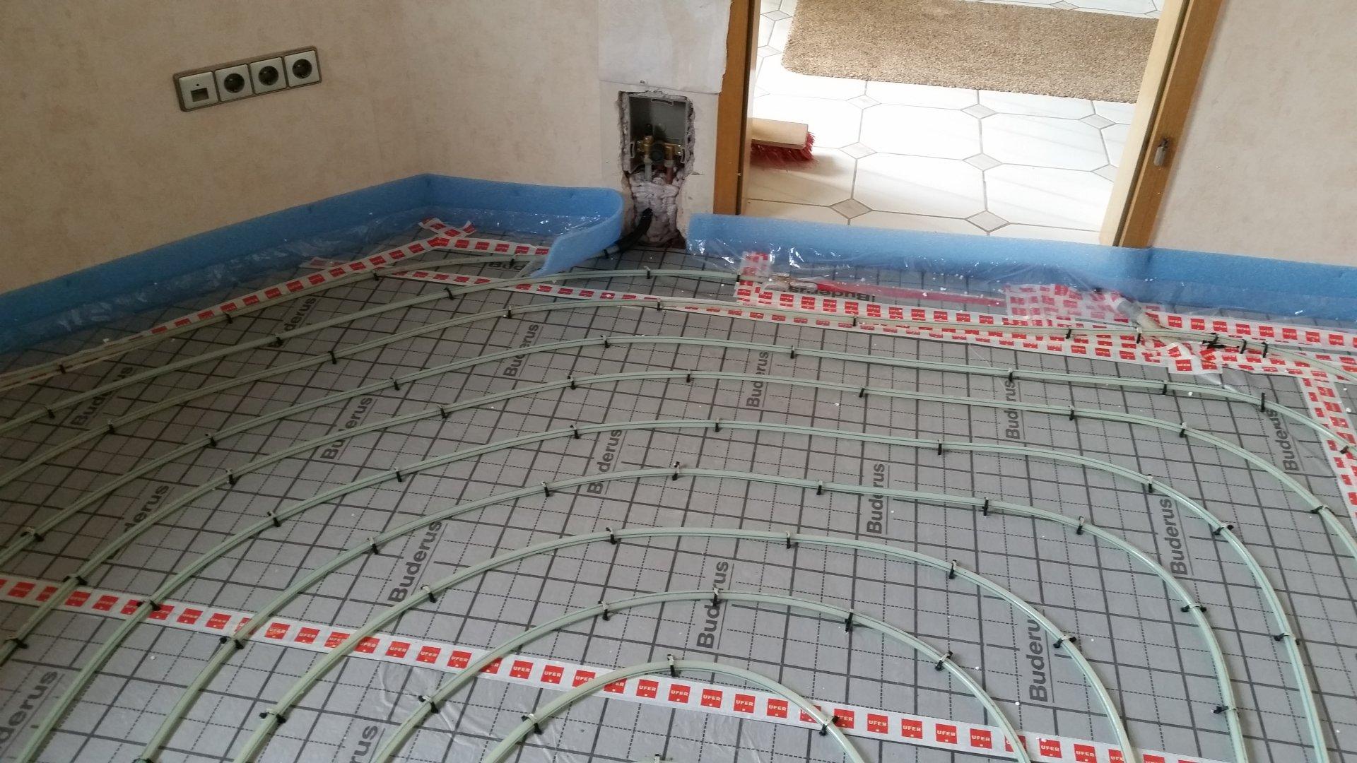 Hervorragend Estrich/Fußbodenheizung wird nicht warm SQ05