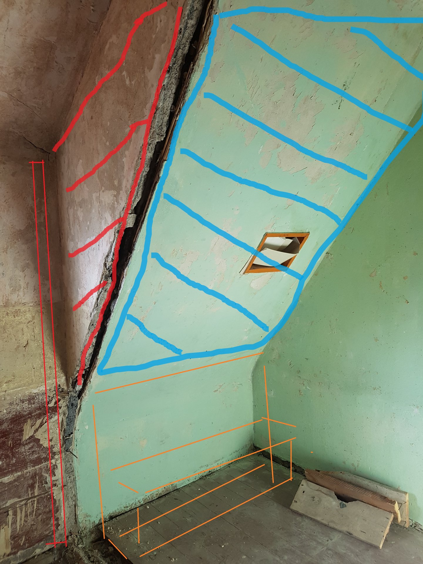 Sanierung Badezimmer - Dämmung der Dachschräge?