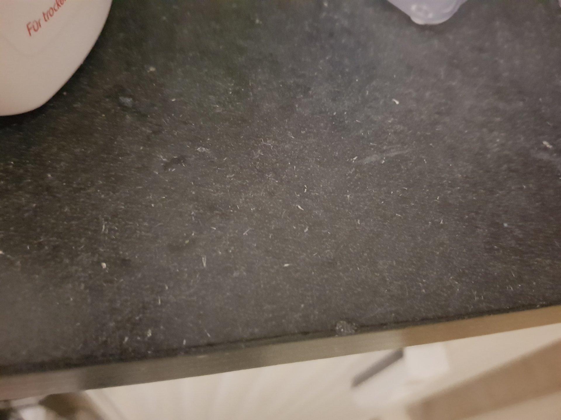 Asbest in Fensterbänken