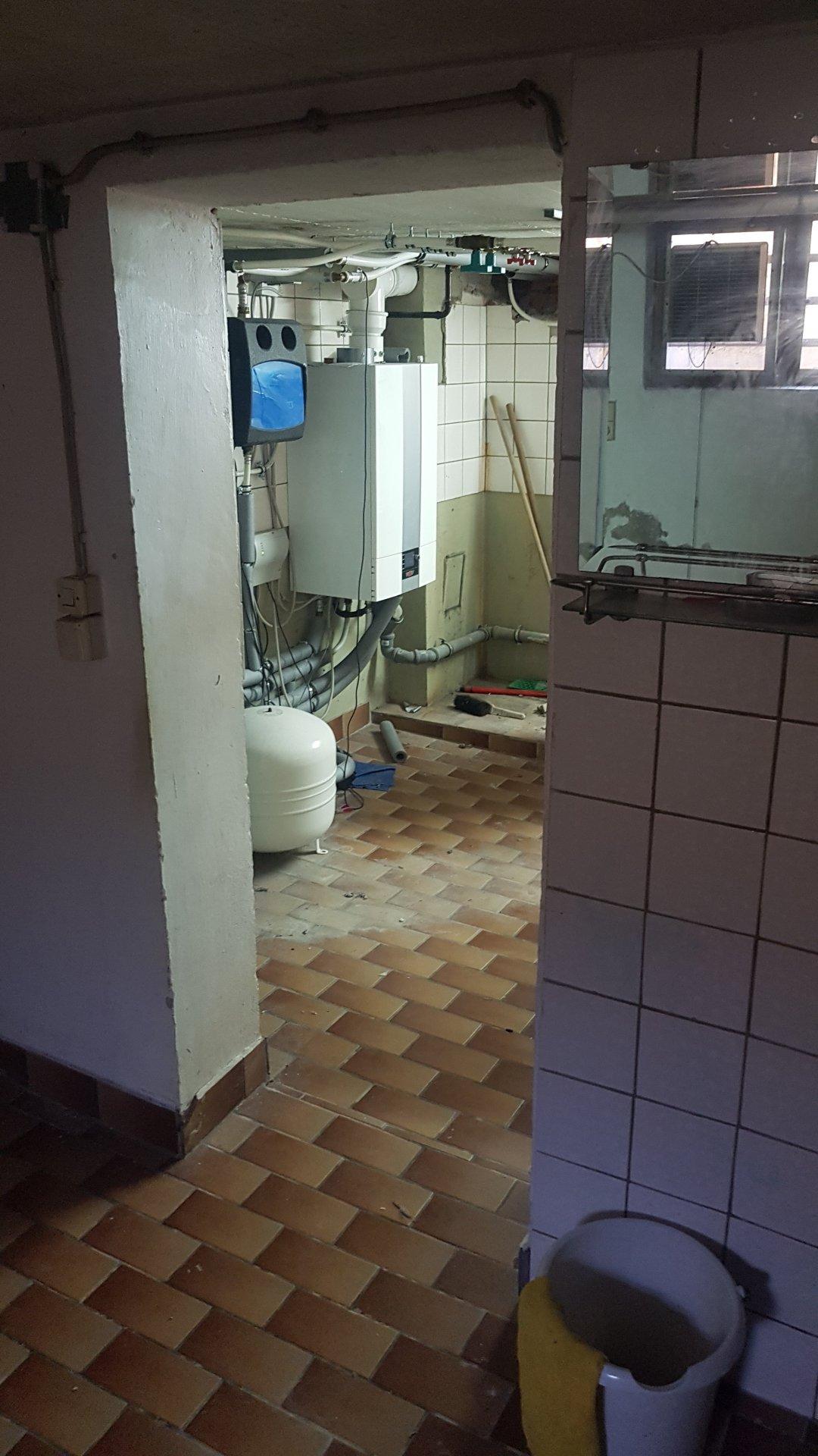 Projekt Badezimmer im Keller