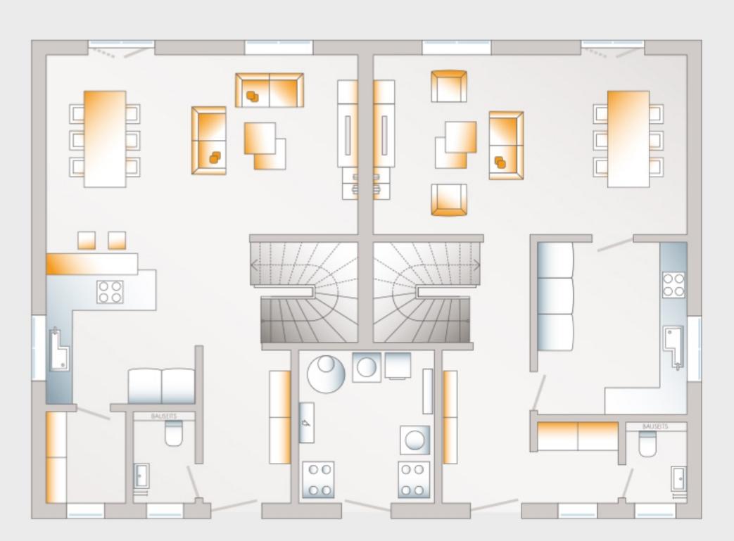 Turbo Grundstück teilen wenn Haus 1 Bodenplatte und gemeinsame Heizung FV41