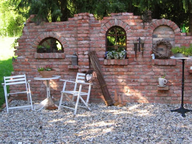 gartenmauer aus alten ziegeln / welcher mörtel?, Gartenarbeit ideen
