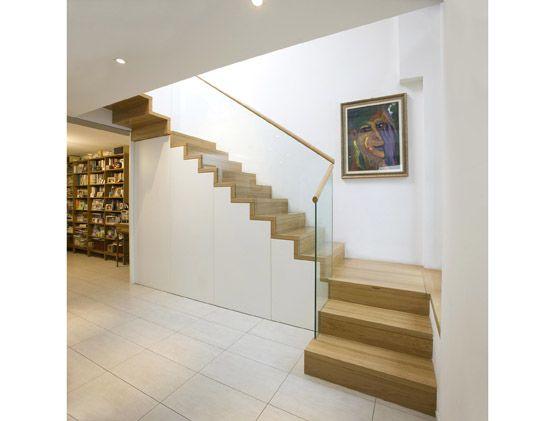 Neubau Betontreppe Mit Holz Oder Fliesen Verkleiden