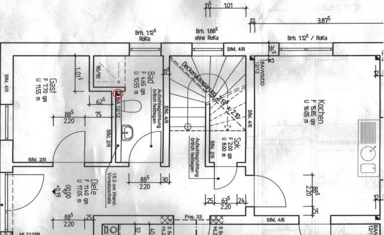 abflussrohr verlegen bad stunning erst die planen zu und abfluss sind das a und o bei jedem. Black Bedroom Furniture Sets. Home Design Ideas