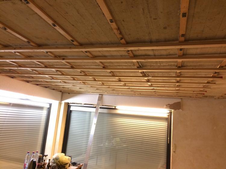 Beliebt Unterkonstruktion Ausrichten (Holz+Holz) TC98