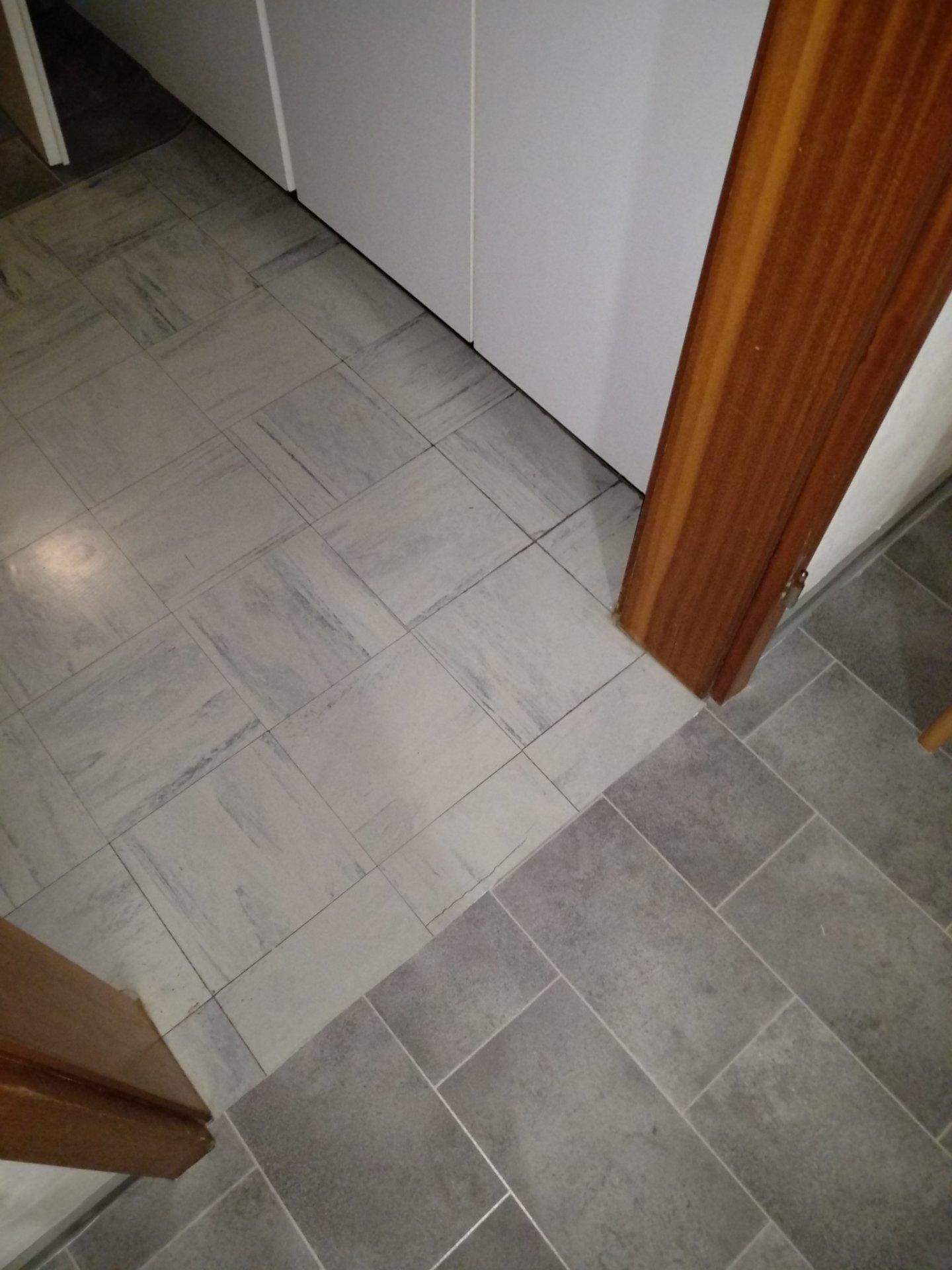 Gebrochene Floor Flex Platten Pvc Boden Darüber