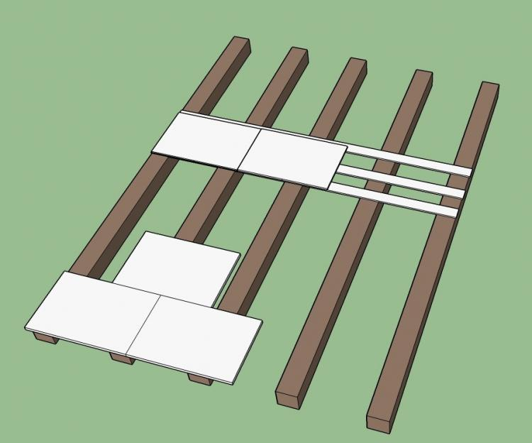 Turbo Einfacher Bodenaufbau auf Holzbalkendecke JV28