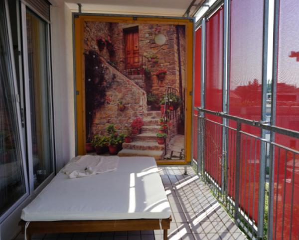 Häufig Schallschutz am Balkon (zum Nachbar) GQ14
