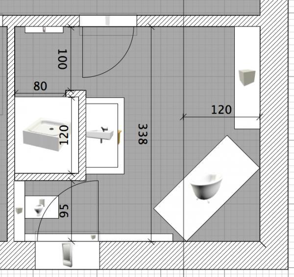 Badezimmer aufteilung neubau  Badezimmer Neubau ~ Preshcool.com = Verschiedene Beispiele für ...