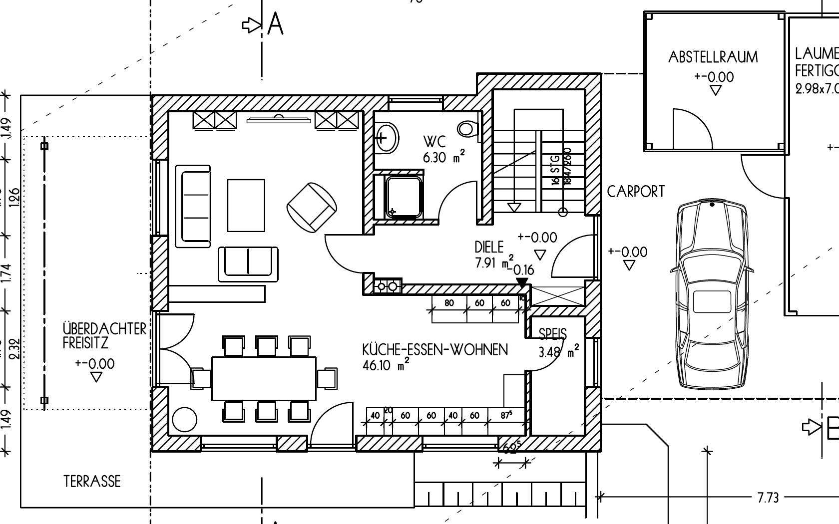 grundriss efh fenster eg. Black Bedroom Furniture Sets. Home Design Ideas