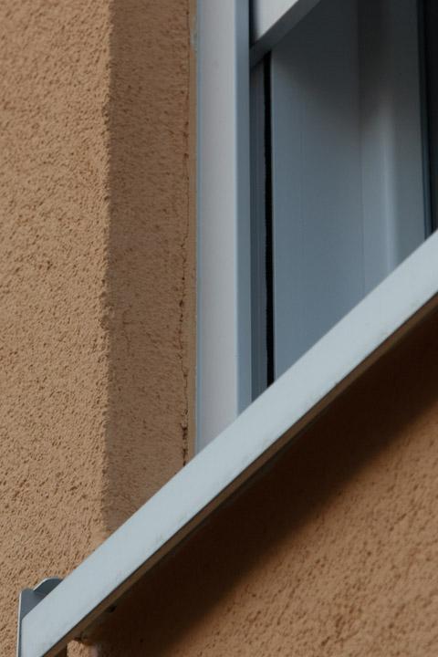 Außergewöhnlich Risse im Übergang Fenster zum Außenputz #WO_09