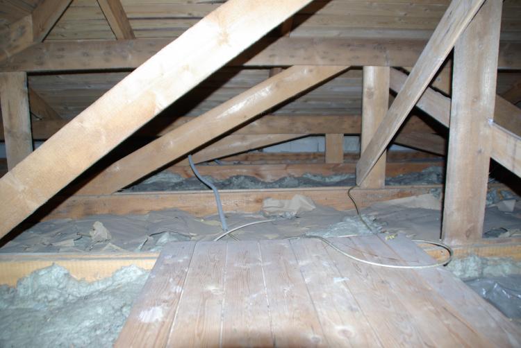 Dammung Oberste Holzbalkendecke Wie Dampfbremse Korrekt Einbauen