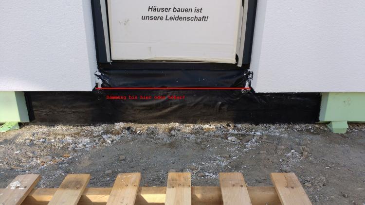 Turbo Eingangspodest / Dämmung Bodenplatte DD09