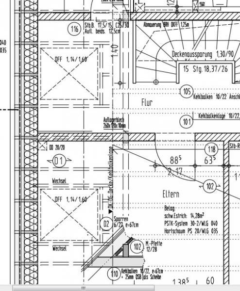 Dachflächenfenster - hätte man sie tiefer einbauen können ...