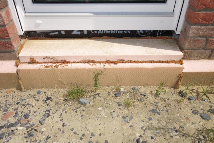 Turbo Problem Entwässerung. Einbau einer Entwässerungsrinne bei uns SP83