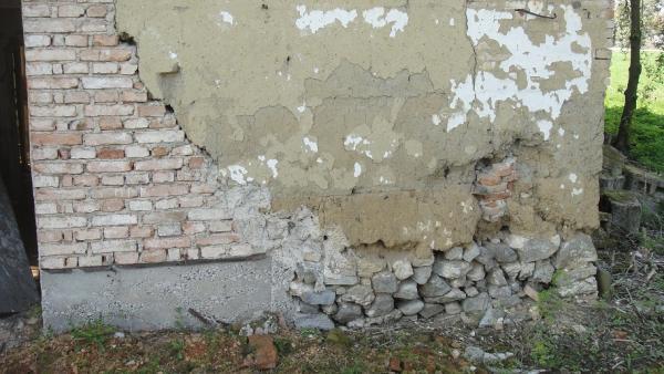 Berühmt Unterfangen einer Ziegelmauer RP19