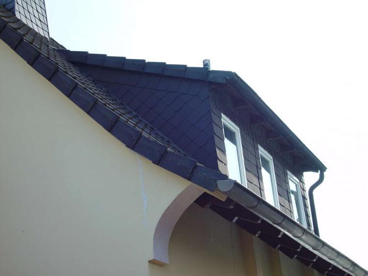Dachbalken Verkleiden gaube verkleiden zink schiefer putz kosten