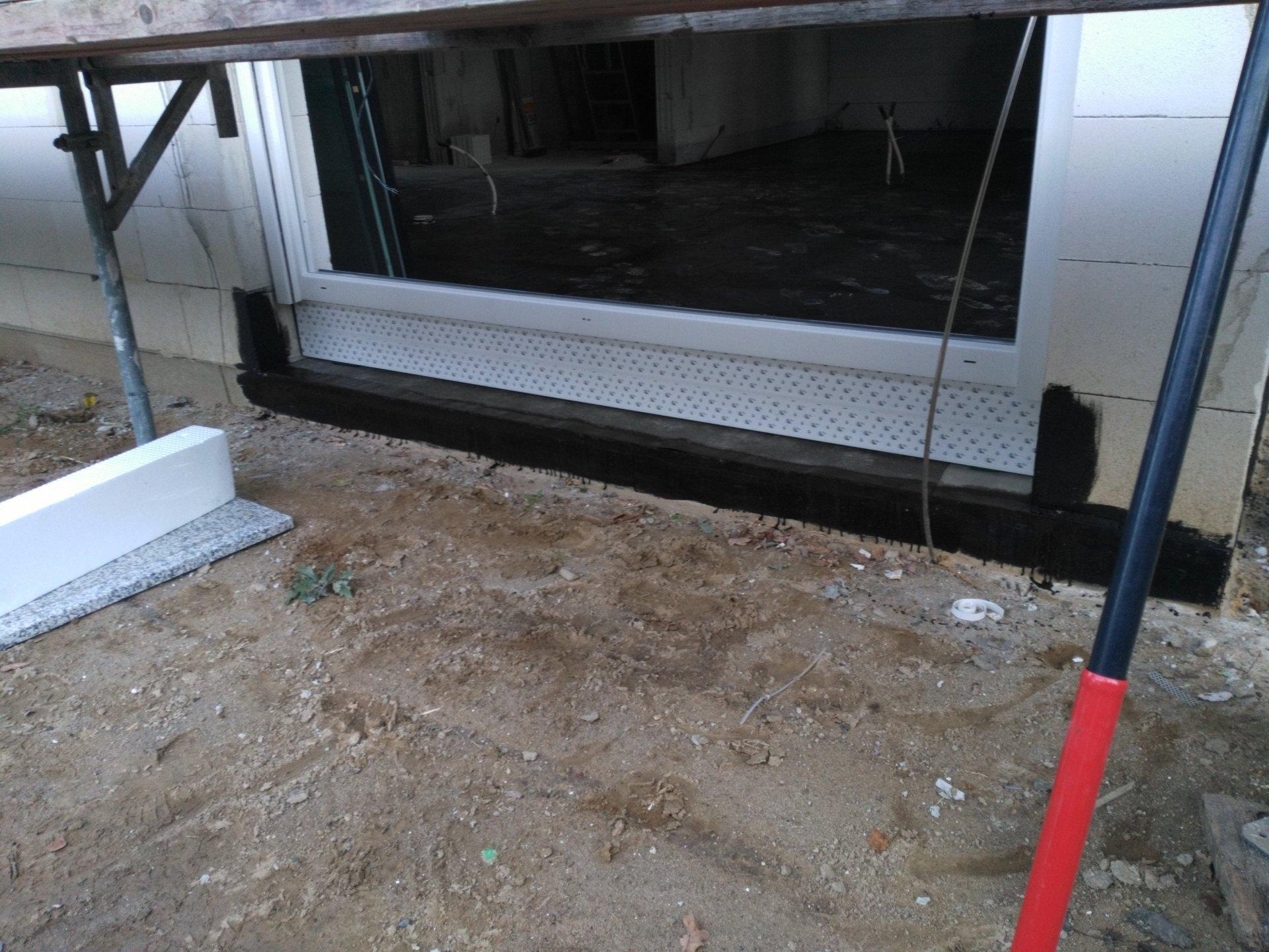 Häufig Anschluss Abdichtung bodentiefes Fenster QQ75