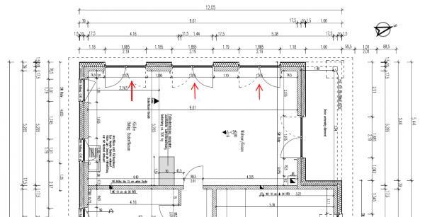 Holzrahmenbau grundriss detail  Fachgerechte Installation Fensterbank- Terrassentür bei Putzbau ...