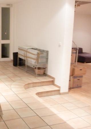 Fliesenboden Sanieren Spachteln Und Beton Optik
