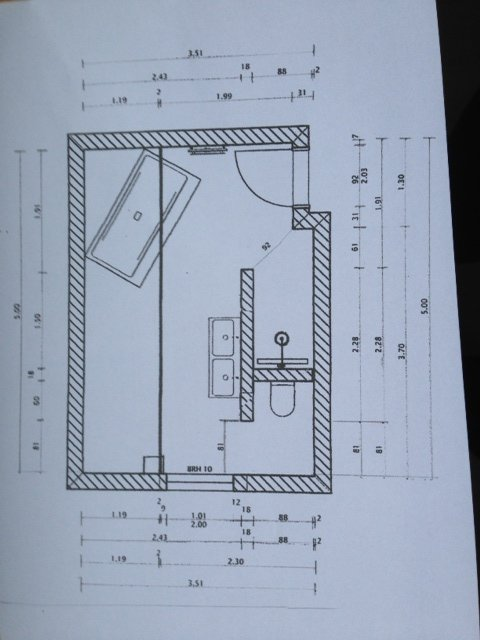 badezimmer 2 x 3 m – topby, Badezimmer