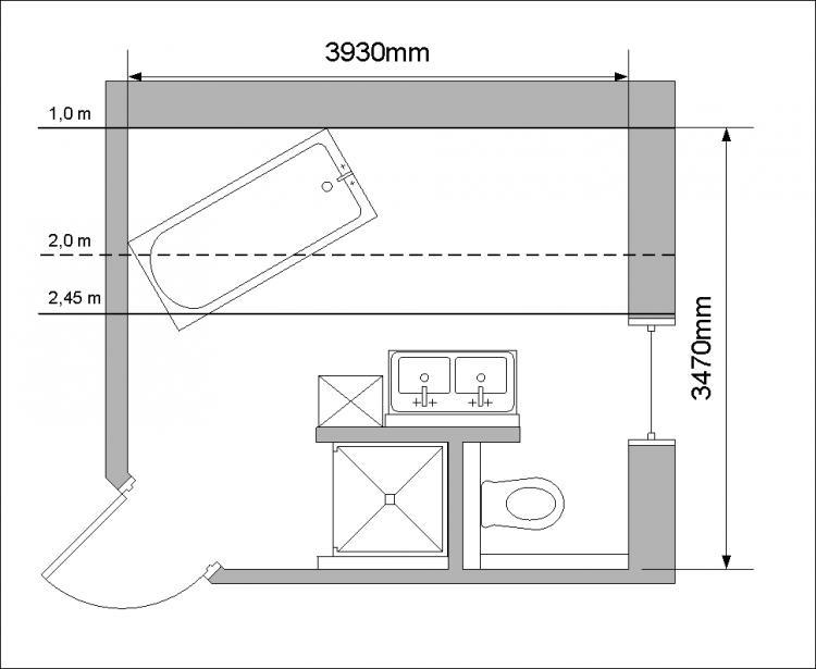 bad dachschr ge grundriss. Black Bedroom Furniture Sets. Home Design Ideas