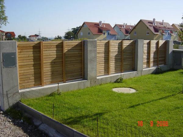 Hilfe Bei Zaunplanung Holz Und Beton