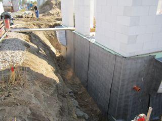 Übergang Perimeterdämung Keller zum Erdgeschoss Porenbeton