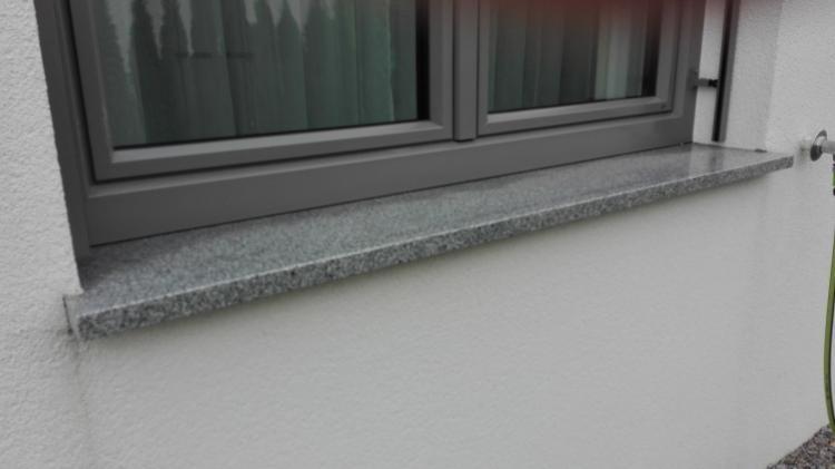 Fensterbank außen Problem Wasserrinne