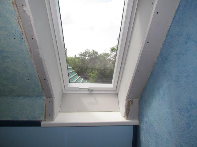 Dachfenster verkleiden fenster verkleiden vorher s innova velux velux velux velux innenfutter - Dachfenster rollladen nachrusten ...