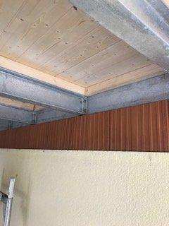Stahlträger Mit Holz Verkleiden verputzen auf stahlträger