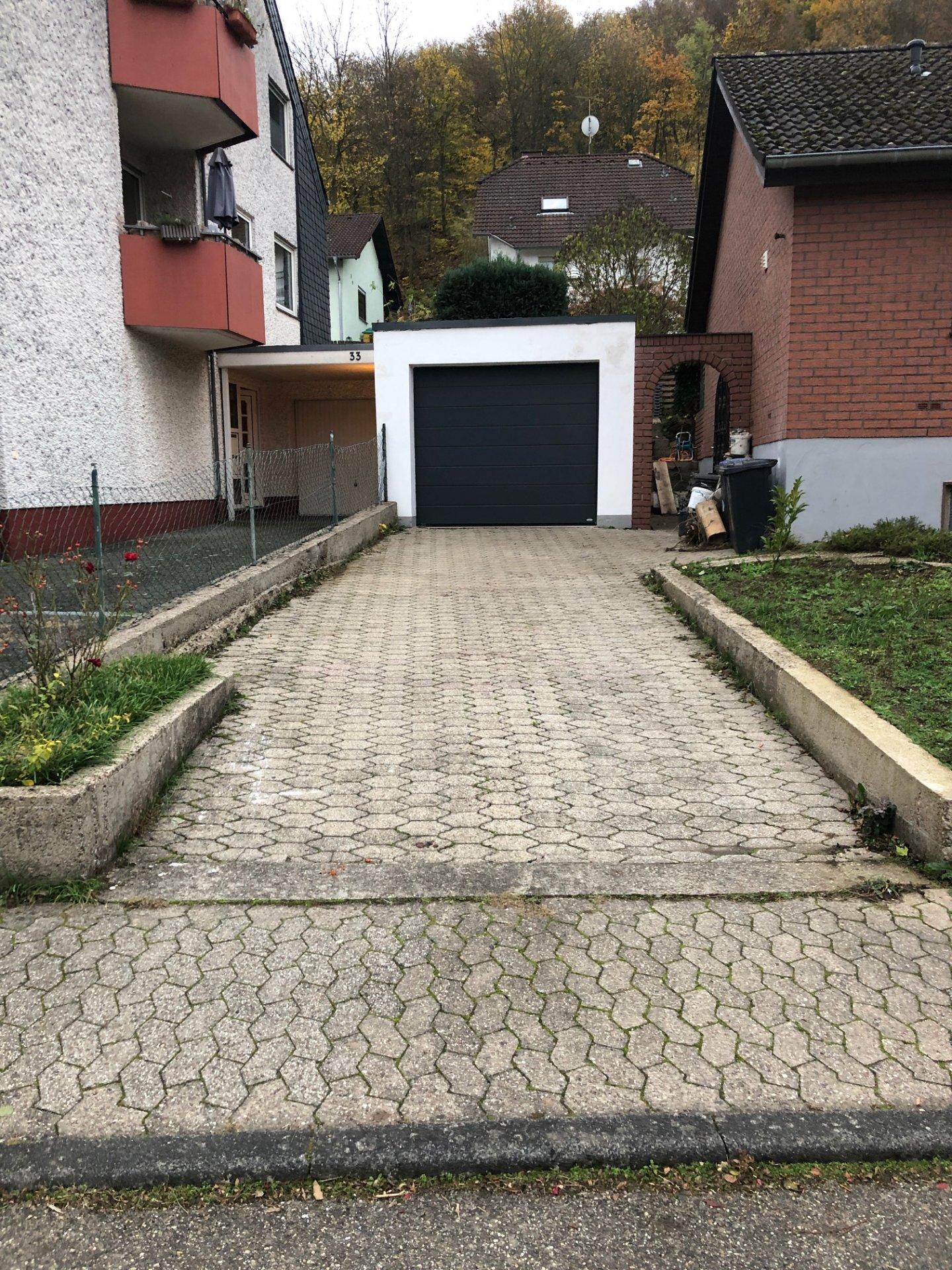 Garagenzufahrt/ einfahrt neu pflastern