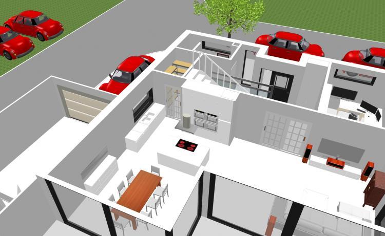 Sweet Home 3d Fußboden Erstellen ~ Haus wohndesign maierhofer freistil haus zeichnen d