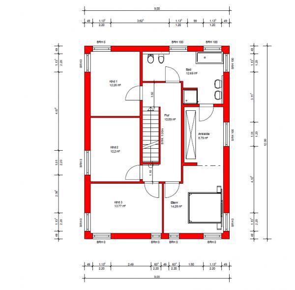 haus mit gerader treppe klassik fr gerade treppen gerade treppe in wildeiche wangen deckend. Black Bedroom Furniture Sets. Home Design Ideas