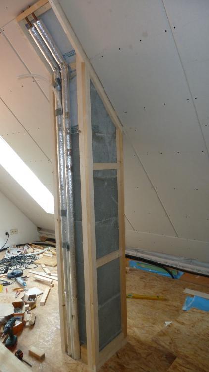 Beliebt Trockenbau am Schornstein DC23