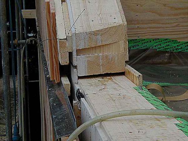 Holzrahmenbau deckenanschluss  Plattengrößen bei Quasi-Balloon-Bauweise?