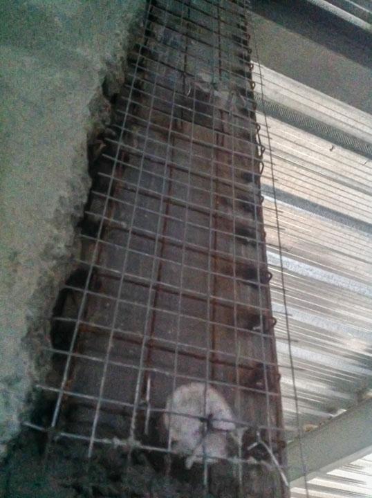 Super Putzträger zum verputzen der Stahlträger? CO02
