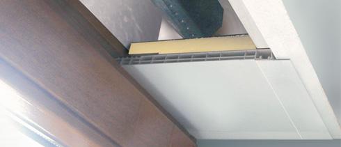 Turbo Rollladenkasten innenliegen bzw. Einbaukasten verkleiden BP23