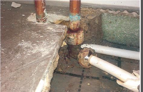 Favorit Schaden am Heizungsrohr HO58