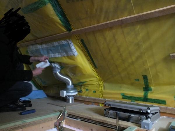 Top Eisbildung auf diffusionsoffener Unterspannbahn OO86