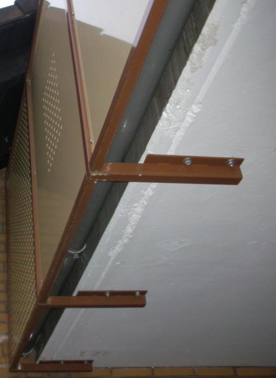 Extrem Balkonverkleidung / Decke verlängern FG35