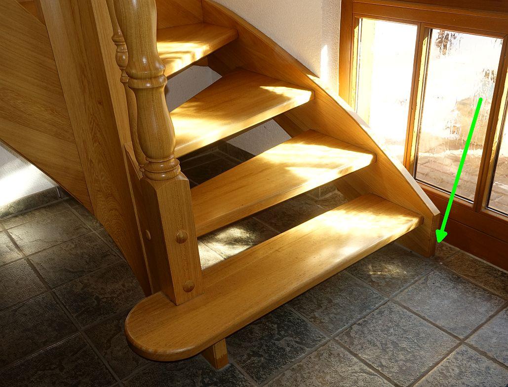 Fußboden Gießen Harz ~ Treppe stabilisieren gefliester fußboden