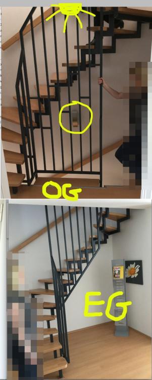 Offene Treppe Schließen offenes treppenhaus auf wandleuchte verzichten