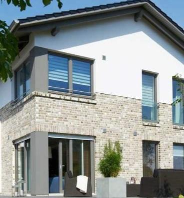 Berühmt Welche Optionen für Fassade mit Klinker (Teil verklinkert) &YM_99