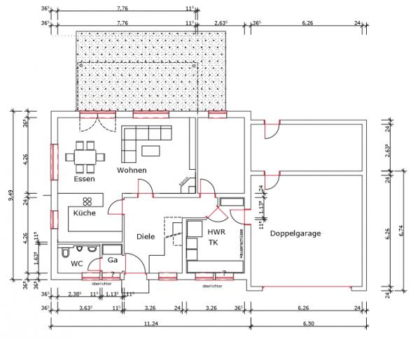 gr e doppelgarage gr e einer doppelgarage grundrissplanung 2 vollgeschosse ohne keller 22