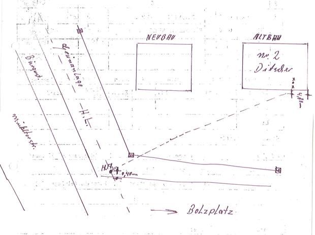 Sehr Alte Wasserleitung im Boden aufspüren YH73