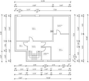 eckfenster mit stahlsttze die bemaung platziert die. Black Bedroom Furniture Sets. Home Design Ideas